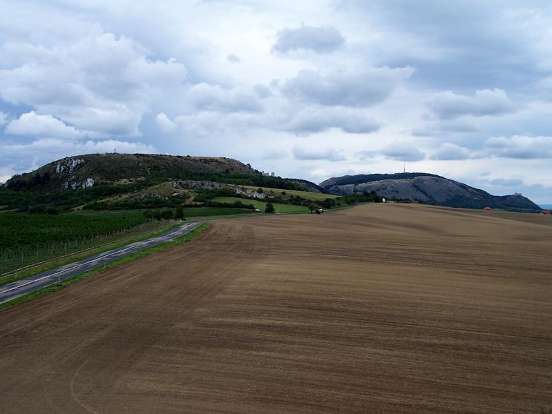 Pálavské vrchy z Kočíčí skály