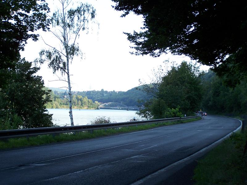 Údolí Vltavy v úseku Zbraslav - Davle