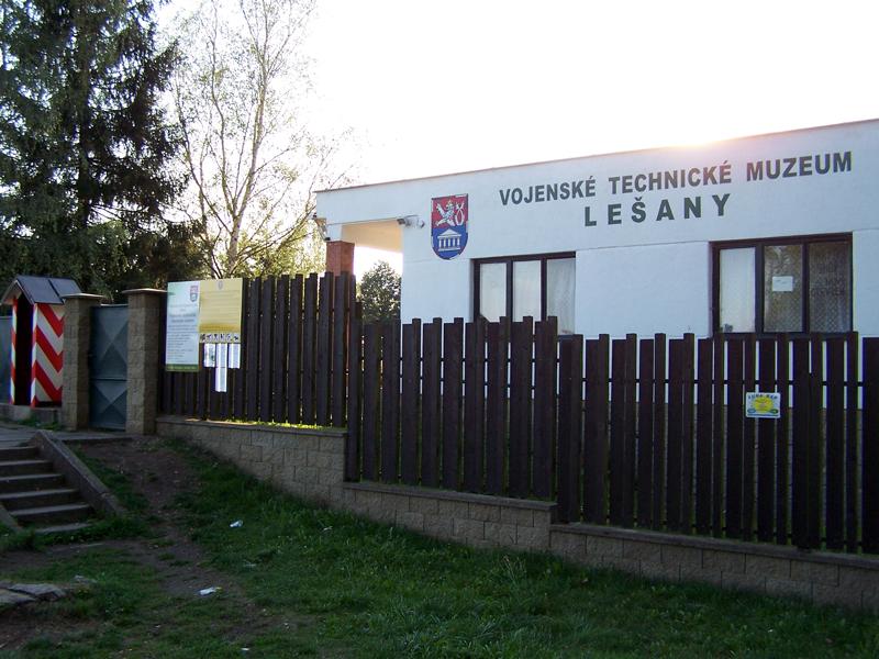 Vojenské muzeum Lešany