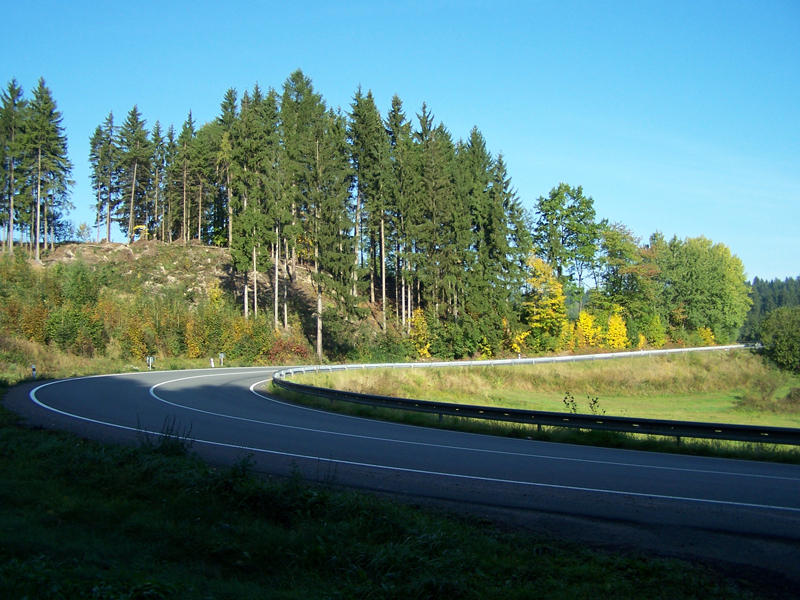 cesta do Jablonného